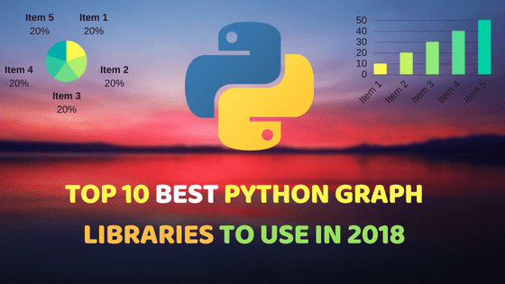 10 Best Python Graph Libraries | Dunebook