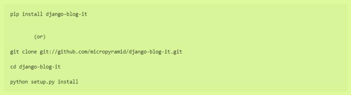 django examples