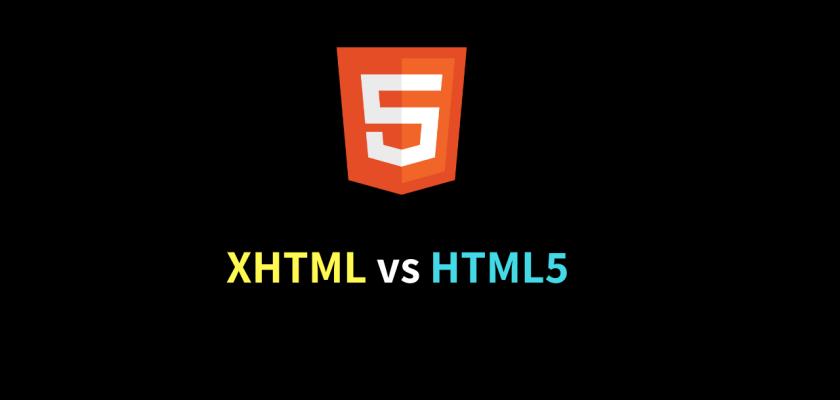 XHTML vs HTML5 _