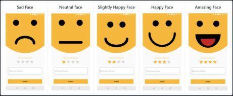 Smiley-Rating-Widget