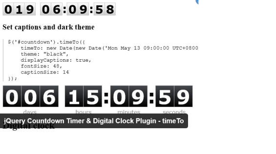 15 Best JavaScript Countdown Timer