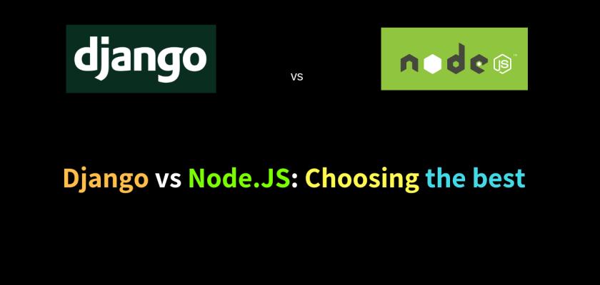 Django vs Node.JS