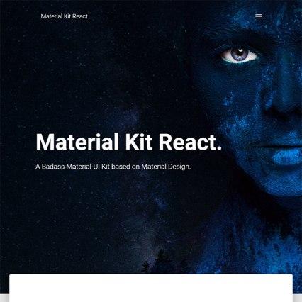 React website templates