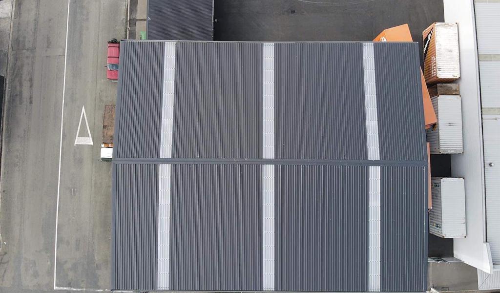 Roof Street Roof Aerial image