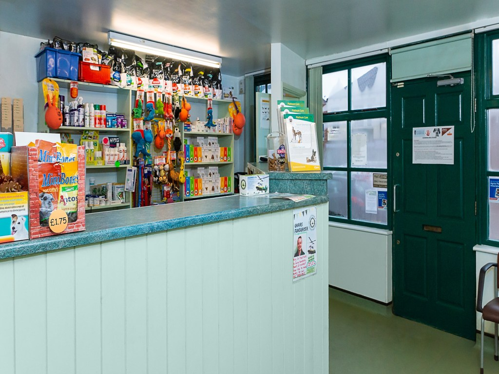 Facilities - Reception Shop