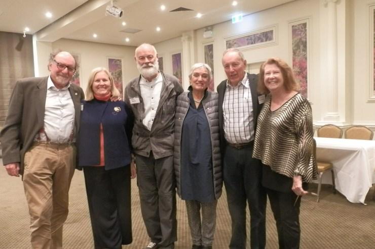 Frank Hofmann, Robyn Hofmann, Frances Federer (Poland), Stefan Majka (Poland), Suzanne Hofmann (Perth) & Gerry Hofmann (Perth).