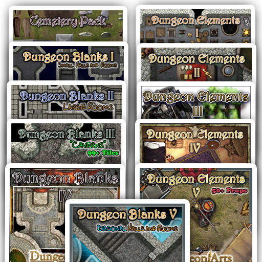 Dungeon Arts Bundle 11 Pack