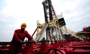 Pengembangan shale gas di China.