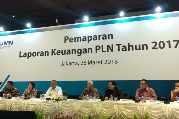 Biaya Energi Melonjak, Laba Bersih PLN 2017 Anjlok Jadi Rp4,42 Triliun