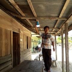 Lampu Tenaga Surya Terpasang 100% di Bengkalis