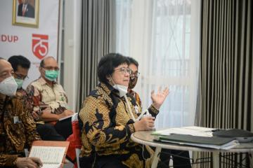 Kementerian LHK Cek Kembali Usulan Proyek PLTS Terapung Cirata