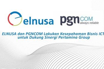 Elnusa Sinergi Bisnis ICT dengan PGAS Telekomunikasi Nusantara