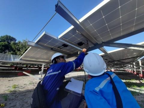 PLN Disjaya Bangun PLTS di Pulau Sebira