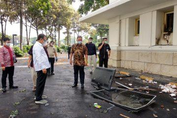 Menteri ESDM Ceritakan Suasana Mencekam Saat Kantornya Dirusak Massa Anti UU Cipta Kerja