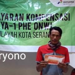 Ratusan Warga Serang Terima Kompensasi Tumpahan Minyak Sumur YYA-1 dari PHE ONWJ
