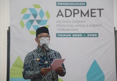 Pimpin ADPMET, Ridwan Kamil Harapkan Bagi Hasil yang Adil dalam Pengelolaan SDA