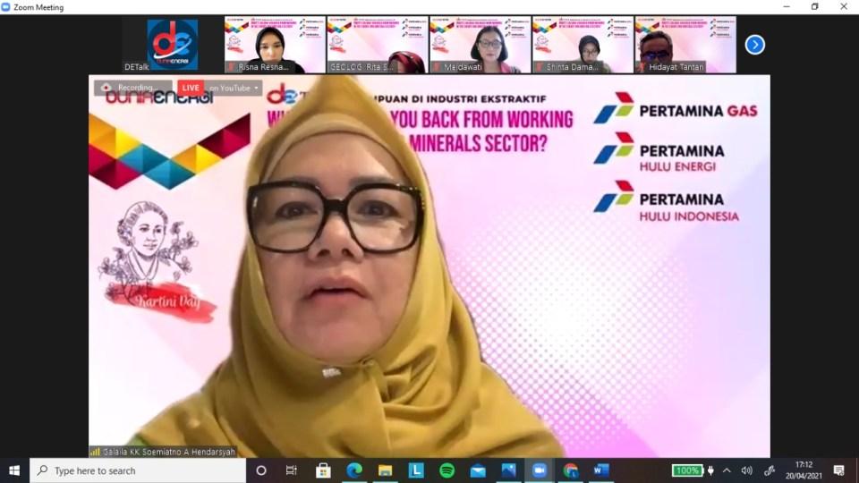 Ini Kiat Sukses Bagi Perempuan untuk Jadi Pemimpin Versi Karen Agustiawan