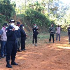 Tim Gabungan KLHK Hentikan Penambangan Emas Ilegal di Kasepuhan Cibarani