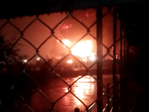 Baru Beroperasi, Fasilitas Petrokimia Area Kilang Cilacap Pertamina Terbakar