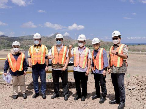 Menteri ESDM Apresiasi Kemajuan Smelter Amman Mineral Industri