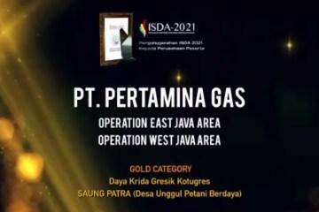 Pertagas Raih Dua Penghargaan di Indonesian SDGs Award