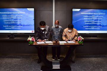 Empat Anak Usaha Pertamina Sepakati Pemanfaatan Infrastruktur Kilang LNG Badak