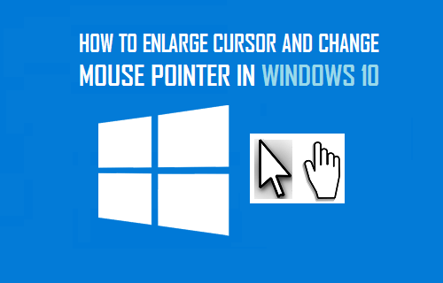 setting -mouse-pointer-windows-10