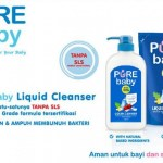 Pure Baby Liquid Cleanser Pump 700ml Buy 1 Get 1 Refill 450ml