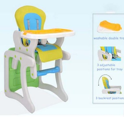 BABY SAFE 2 IN 1 MULTIFUNCTION HIGH CHAIR AND TABLE CHAIR