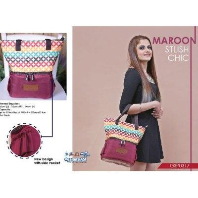 Cooler Bag GabaG Maroon