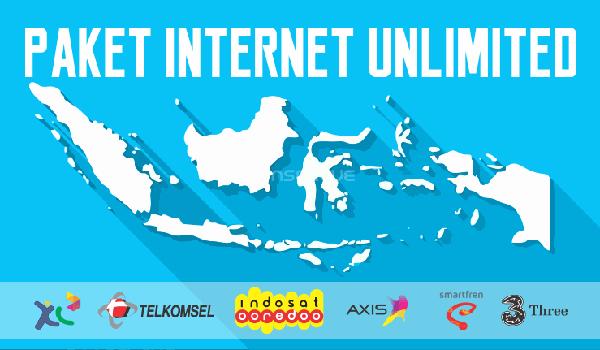 Pengertian paket internet unlimited