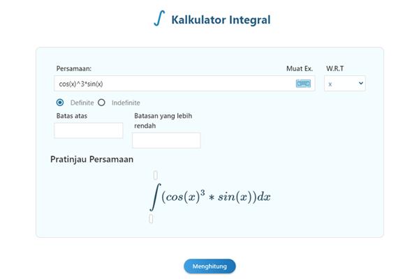 kalkulator intgral