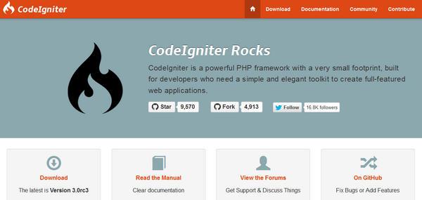 Code Igniter Framework