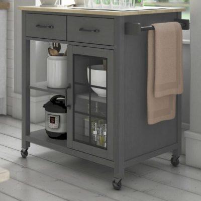 Meja Dapur Dorong Minimalis Amata
