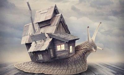 casa a cuestas