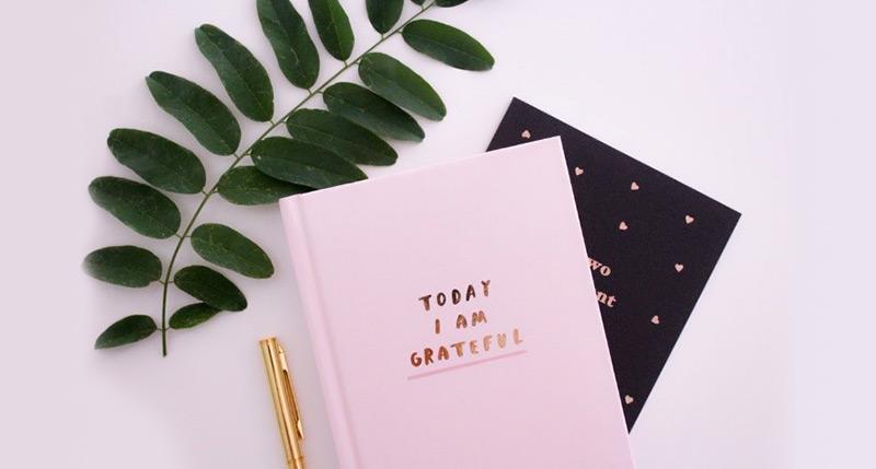Adopt an attitude of gratitude