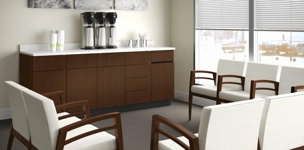 customer coffee area