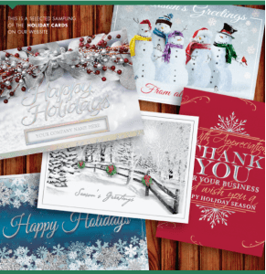 dunns business solutions wants to save you money and make sure that ordering holiday cards is a stress free experience for you - Custom Holiday Cards For Business