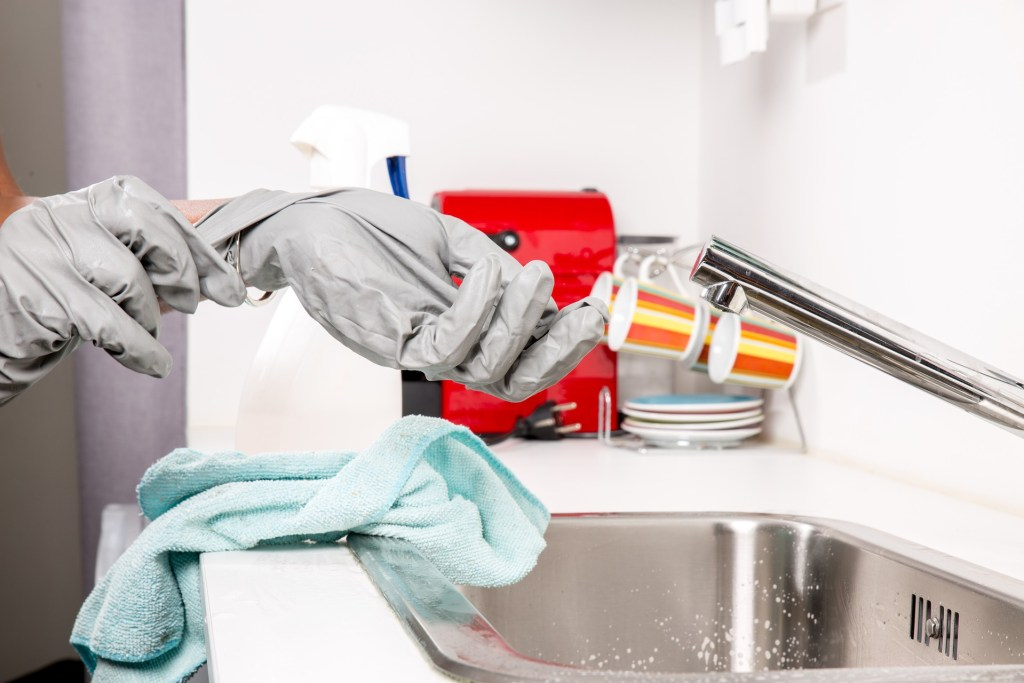 green office cleaning products