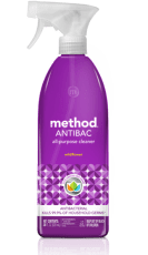 method antibacterial spray