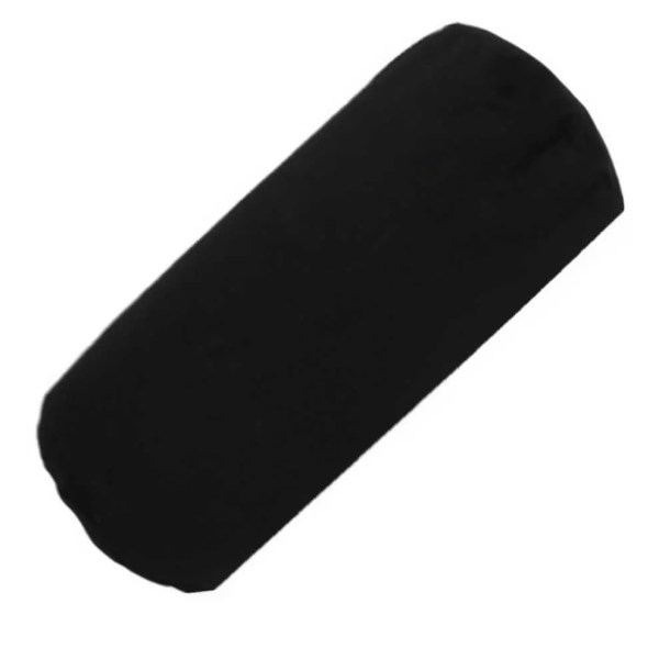 black cotton drill bolster cylinder cushions covers