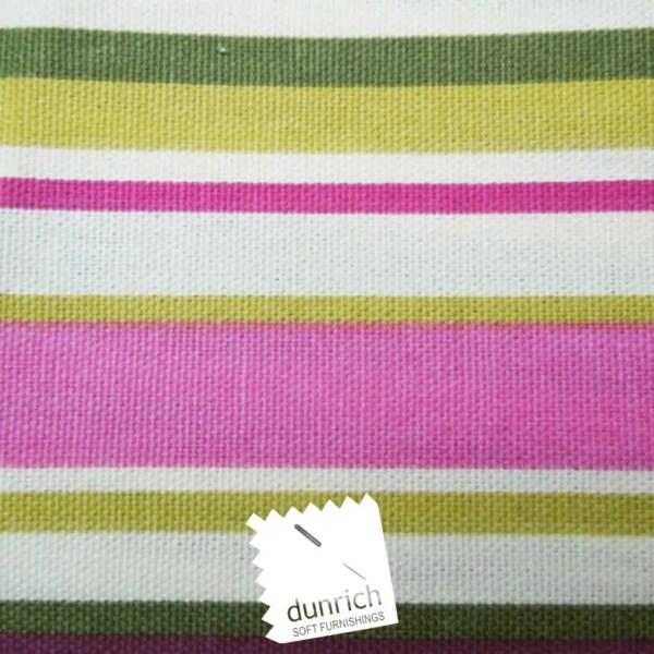 bright pink goa striped cotton fabric