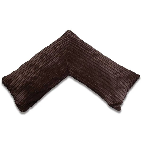 brown pregnancy v pillow chunky cord