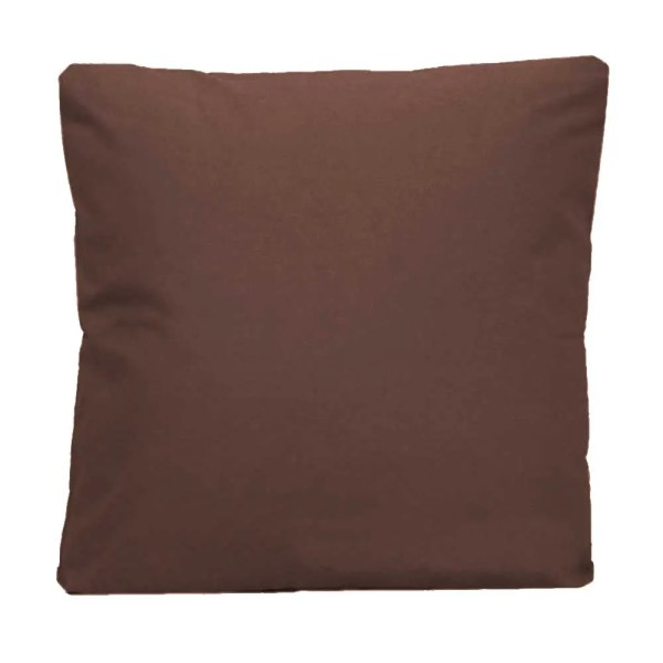cotton drill cushion cushioncover brown