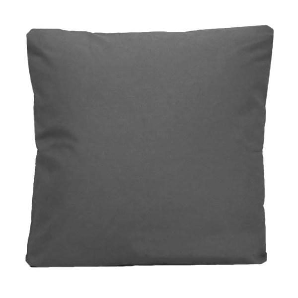 cotton drill cushion cushioncover darkgrey