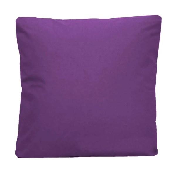 cotton drill cushion cushioncover purple