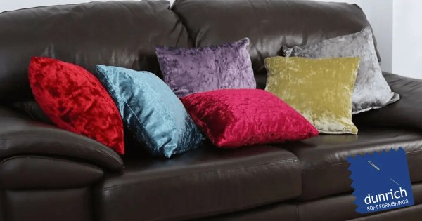 crushed velvet cushion cushion covers all