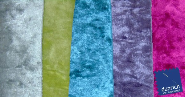 crushed velvet fabric to order all colours fb