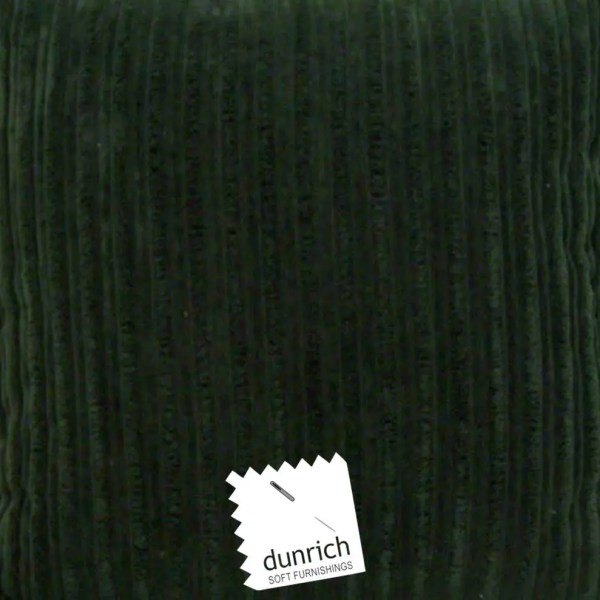 dark green chunky cord cut fabric to order