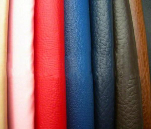 faux leather cut fabric